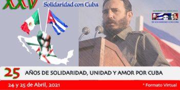 Saluda el ICAP el Encuentro Mexicano de solidaridad con Cuba