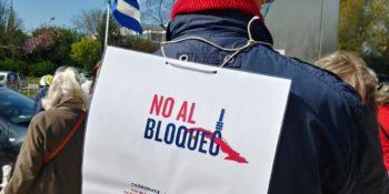 Segundo día de la II Caravana Mundial contra el bloqueo: 25 de abril
