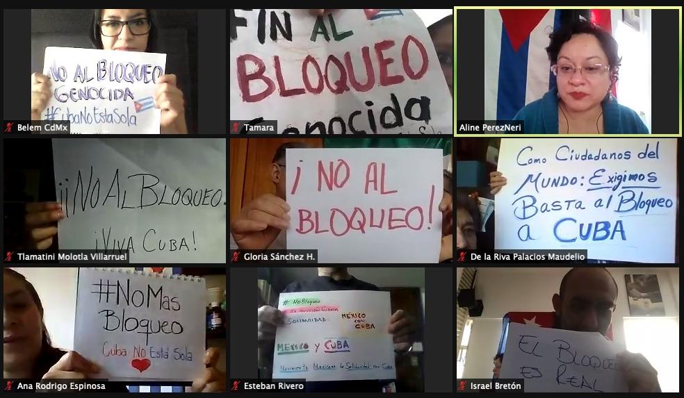 Clausura XXV Encuentro Mexicano de Solidaridad con Cuba